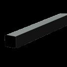 24mm Side Rail with Black Wear Strip