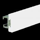 25mm Side Rail with White Wear Strip