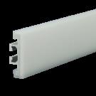 58mm Side Rail with White Wear Strip