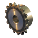 #35 Sprocket 18 Tooth, 18mm Bore, Key 6mm